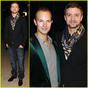 Justin Timberlake: 'Beauty Book for Brain Cancer' Launch!