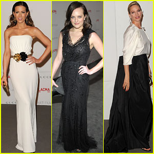 Kate Beckinsale &#038; Elisabeth Moss: LACMA Gala Gorgeous!