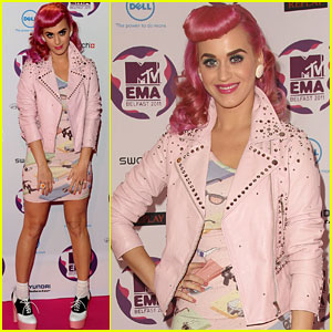 Katy Perry: MTV EMAs 2011 Red Carpet