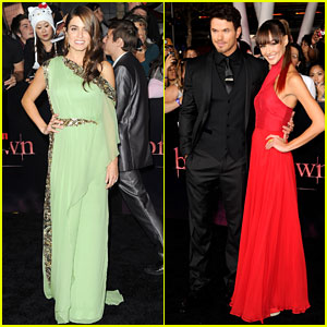 Nikki Reed & Kellan Lutz: 'Breaking Dawn' Premiere!