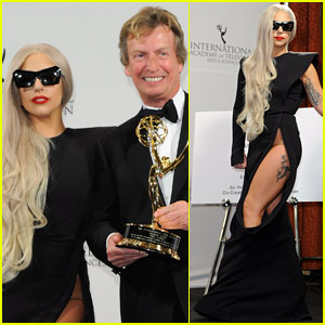 Lady Gaga: International Emmy Awards with Nigel Lythgoe!