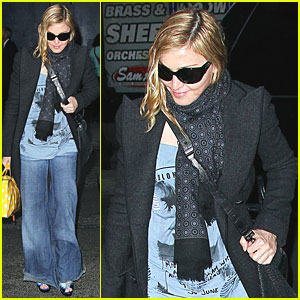 Madonna Bundles Up in NYC
