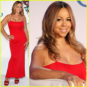 Mariah Carey: Jenny Press Conference in NYC!