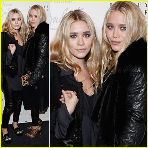 Mary-Kate & Ashley Olsen: Christian Louboutin Cocktail Party!