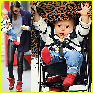 Miranda Kerr: Flynn is Crawling!