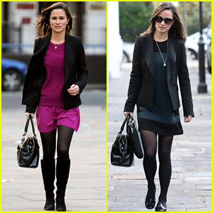 Pippa Middleton: Weekend at Hogwarts!