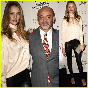 Rosie Huntington-Whiteley: Christian Louboutin Launch Party!