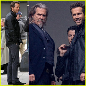 Ryan Reynolds: Dancing the Robot With Jeff Bridges!