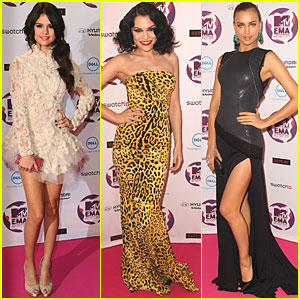 Selena Gomez: MTV EMAs 2011 Red Carpet