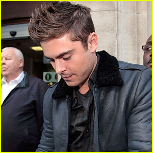 Zac Efron: BBC Radio One Visit!