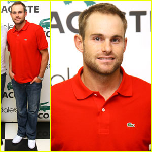 Andy Roddick: Meet &#038; Greet at Bloomingdale's!