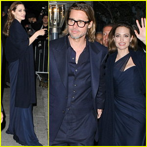 Angelina Jolie & Brad Pitt: 'Blood & Honey' After Party!