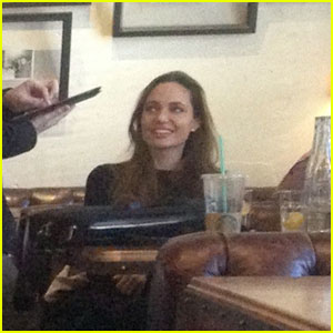 Angelina Jolie Reacts to Golden Globes Nomination