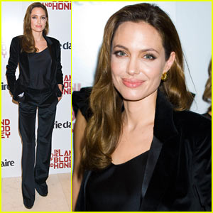 Angelina Jolie: 'Blood & Honey' Marie Claire Screening!
