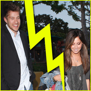 Ashley Tisdale & Scott Speer Split