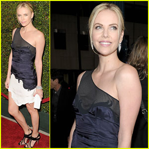 Charlize Theron Premieres 'Young Adult' in Bever
