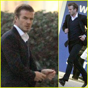 David Beckham: Christmas Eve Shopping!