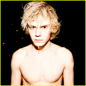 Evan Peters: Shirtless Horror Story