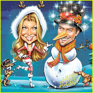 Fergie & Josh Duhamel's Christmas Card Revealed!