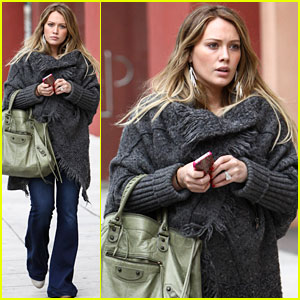 Hilary Duff: I Am 'Very Much So' Prego!