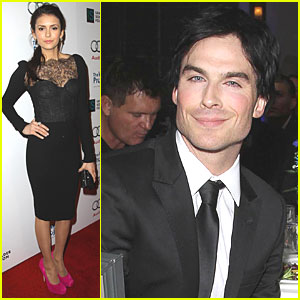 Ian Somerhalder & Nina Dobrev: 'Ripple Effect' Benefit!