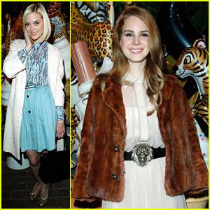 Lana Del Rey & Jaime King: Mulberry Mates!