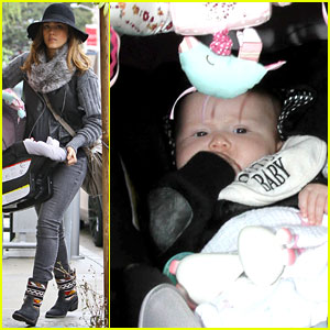 Jessica Alba: Baby Boutique with Haven!