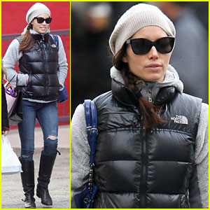 Jessica Biel: Soho Shopper