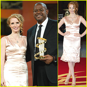Jessica Chastain Pays Tribute to Forest Whitaker
