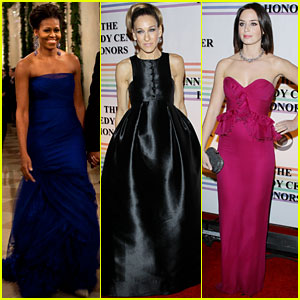 Michelle Obama & Sarah Jessica Parker: Kennedy Center Honors!