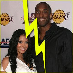 Kobe Bryant & Wife Vanessa Split