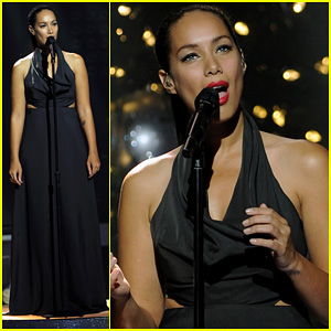 Leona Lewis: 'Run' on 'X Factor' Finale!