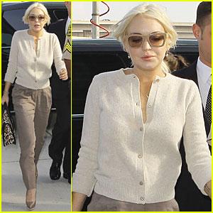 Lindsay Lohan: Positive Progress Hearing!