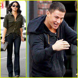 Channing Tatum, Olivia Munn, & Cody Horn: 'Magic Mike' Sunday!