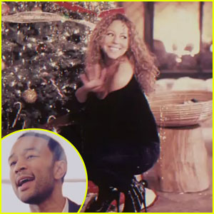 Mariah Carey &#038; John Legend: 'When Christmas Comes' Video!