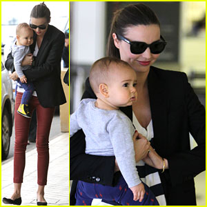 Miranda Kerr: Flynn Loves Hip Hop!