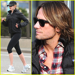 Nicole Kidman: Early Morning Jog!