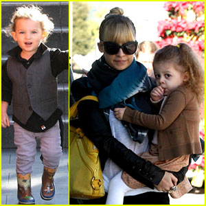 Nicole Richie: Christmas Shopping with Harlow & Sparrow!