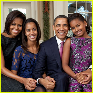 New Obama Family Portrait Revealed!
