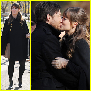 Olivia Wilde & Jason Bateman: 'Longest Week' Kiss in Central Park!