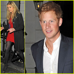 Prince Harry & Chelsy Davy: Brompton Club Exit