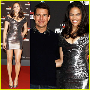 Tom Cruise & Paula Patton: 'Ghost Protocol' in Munich!