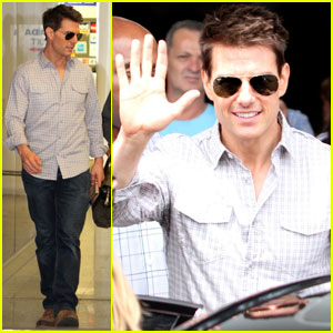 Tom Cruise: 'Ghost Protocol' Heads to Rio!