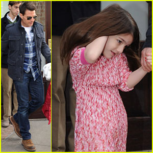 Tom Cruise & Suri: Chelsea Piers Pair!