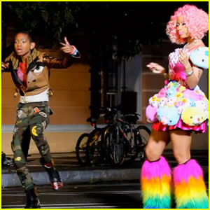 Willow Smith: 'Fireball' Video Premiere With Nicki Minaj!