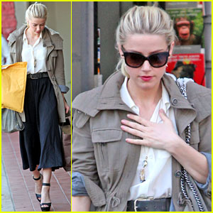 Amber Heard: Friday Errands
