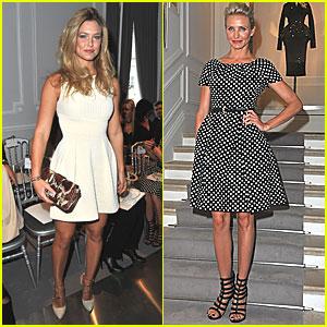 Bar Refaeli: Dior Show at Paris Fashion Week!