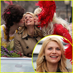Claire Danes: Hasty Pudding Parade!