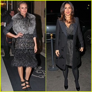 Diane Kruger &#038; Salma Hayek: Giambattista Valli Fashion Show!