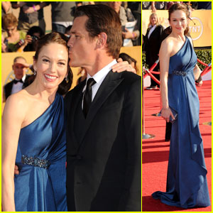 Diane Lane & Josh Brolin - SAG Awards 2012 Red Carpet